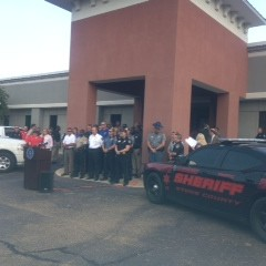 """Drive Sober OR Get Pulled Over"" Labor Day Press Release Event"