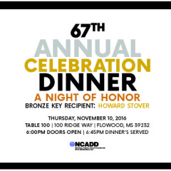 67th Annual Celebration Dinner…JOIN US and DONATE