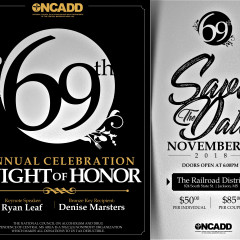 NCADD 69th Annual Celebration Announcement